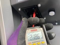 電気自動車 電圧測定