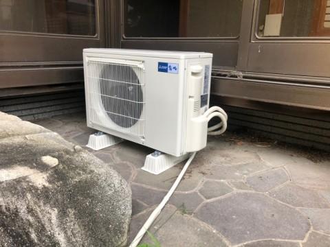 三菱電機 エアコン室外機取替え