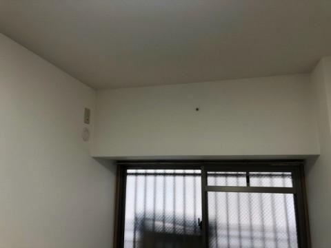 マンションの二部屋にエアコン設置