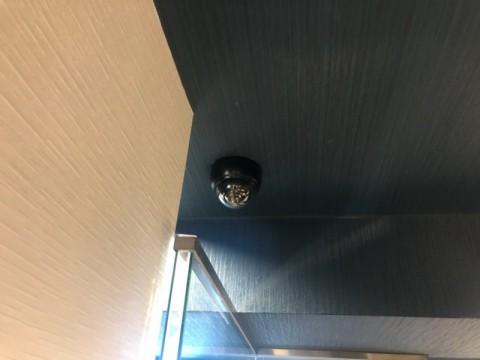 防犯カメラ取付け