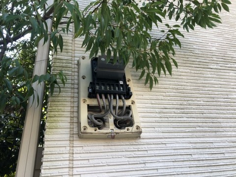 電力メーター開
