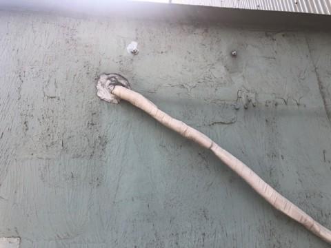 室内側 配管