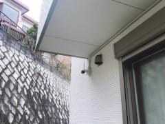 VE管配線 カメラ設置