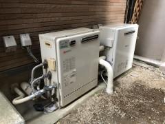 ガス給湯器 設置後