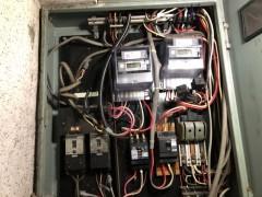 神戸市中央区 漏電分電盤