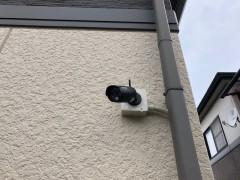 施工後 防犯カメラ